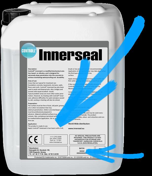CONTROLL Innerseal Produkt Kanister original