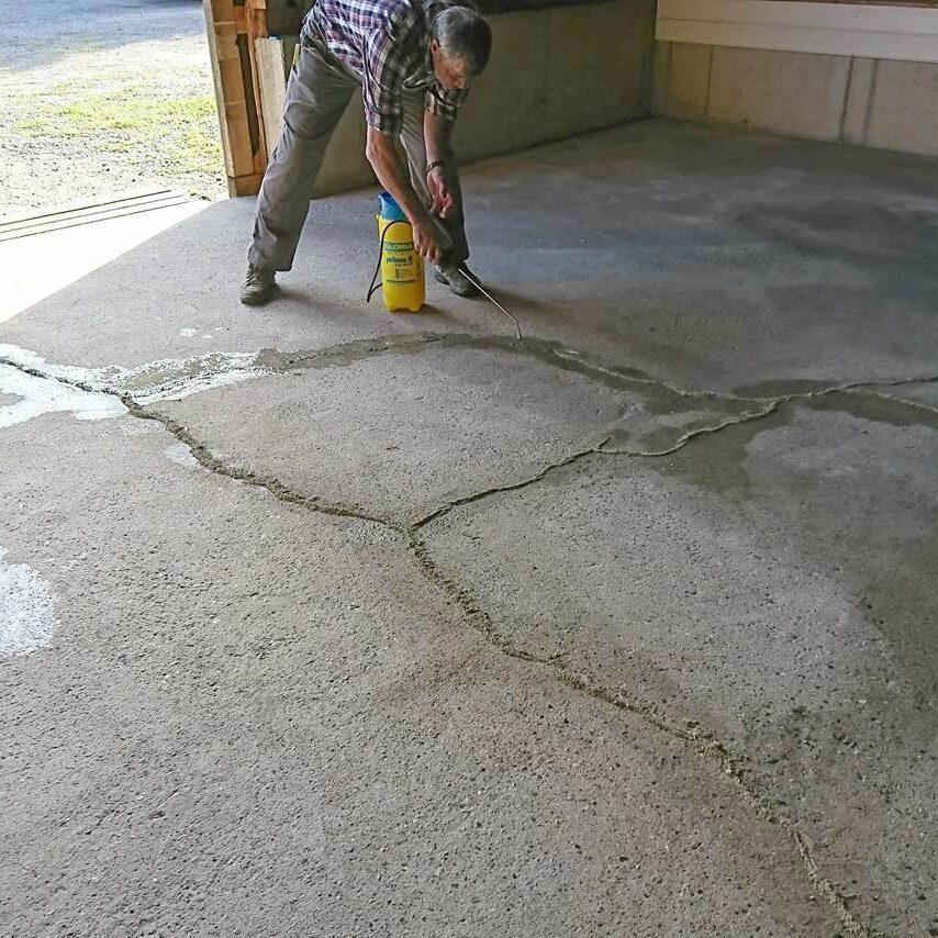 komsol controll innerseal plus Risse Beton alter strapazierter Beton auffuellen