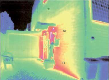 komsol controll topseal Thermografie Untersuchung Kalksandsteinfassade Projektbericht Thermografieuntersuchung