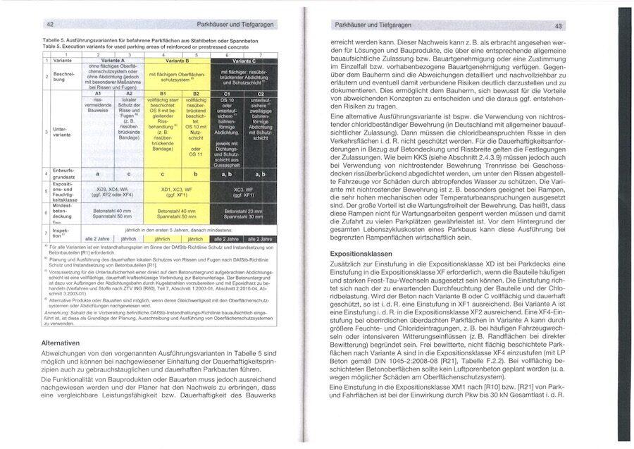 Betonbodenbeschichtigung laut OS 8 und OS 10 und OS 11 komsol controll innerseal