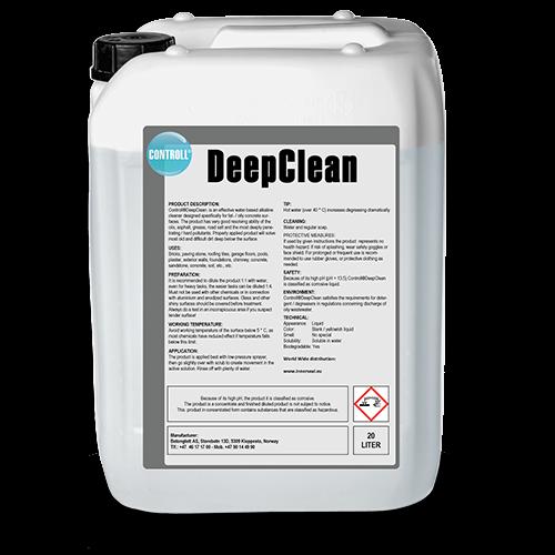 CONTROLL DeepClean Produkt Kanister original schatten 20l gebrauchsfertig