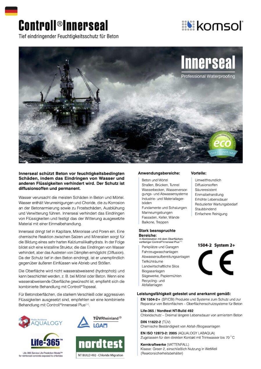 TDS Controll Innerseal DE 2018 GREENLINE komsol Deutschland