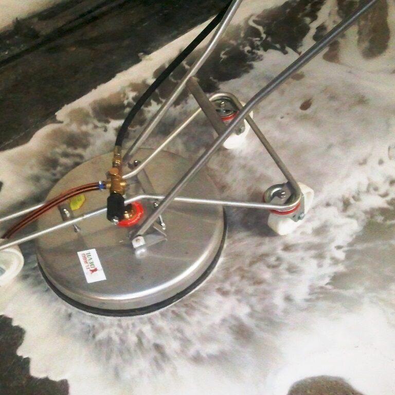 komsol controll innerseal risse beton garage chloride impregnieren Cleaning reinigen heisses wasser deepclean