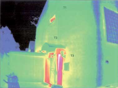 komsol controll topseal Thermografie Untersuchung Kalksandsteinfassade Projektbericht Thermografieuntersuchung 2